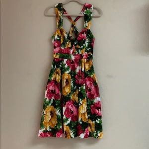 London Times floral 50s inspired sun dress, 6